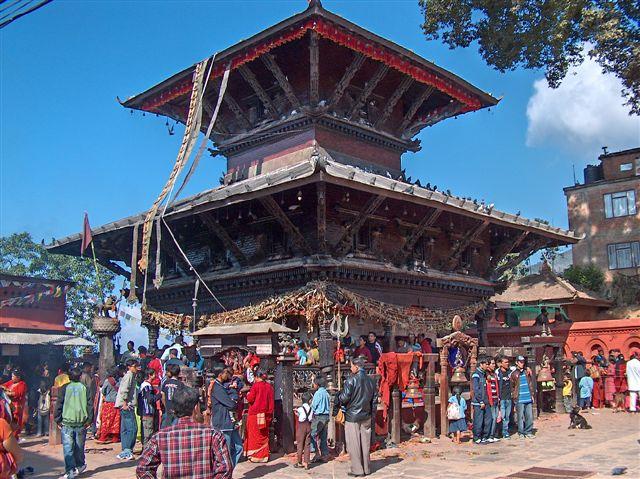 manakanama mandir tempel